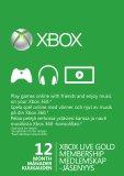 Microsoft Xbox Live Gold 12 kk peliaikapaketti