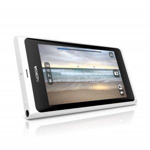 Nokia N9 älypuhelin 64GB, valkoinen
