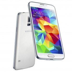 Samsung Galaxy S5, valkoinen