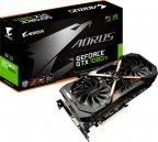 Gigabyte AORUS GeForce GTX 1080 Ti 11G 11264 Mt -näytönohjain PCI-e-väylään