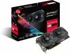 Asus ROG-STRIX-RX570-O4G-GAMING Radeon RX 570 4 Gt -näytönohjain PCI-e-väylään