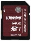 Kingston 64GB SDXC UHS-I U3 muistikortti