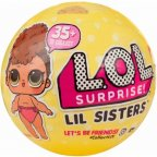 L.O.L. Surprise Lil Sisters PDQ -yllätyspallo, 1 kpl