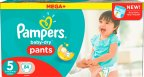 Pampers Dry Pants -housuvaippa, koko 5, 84 kpl, MEGABOX