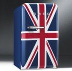 Smeg FAB5RUJ -retrojääkaappi, Union Jack
