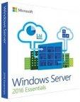 Microsoft Windows Server Essentials 2016 - 64-bit - yksi prosessori / kaksi ydintä - OEM -käyttöjärjestelmä, englanninkielinen