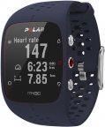 Polar M430 GPS-urheilukello rannesykemittauksella, sininen
