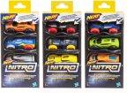 NERF Nitro Foam Car -autot, 3 kpl