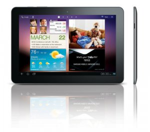 Samsung Galaxy Tab 10.1 (P7510) WiFi Android-tablet, musta