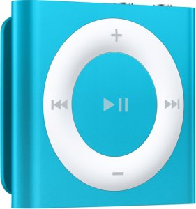 Apple iPod shuffle 2 GB digitaalinen soitin, sininen, MD775