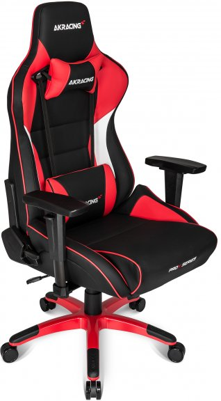 Akracing pro x gaming chair pelituoli punainen for Silla gamer razer