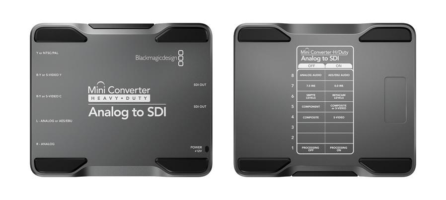Blackmagic Mini Converter Heavy Duty - Analog to SDI muunnin – Muut – Videoeditointi ...