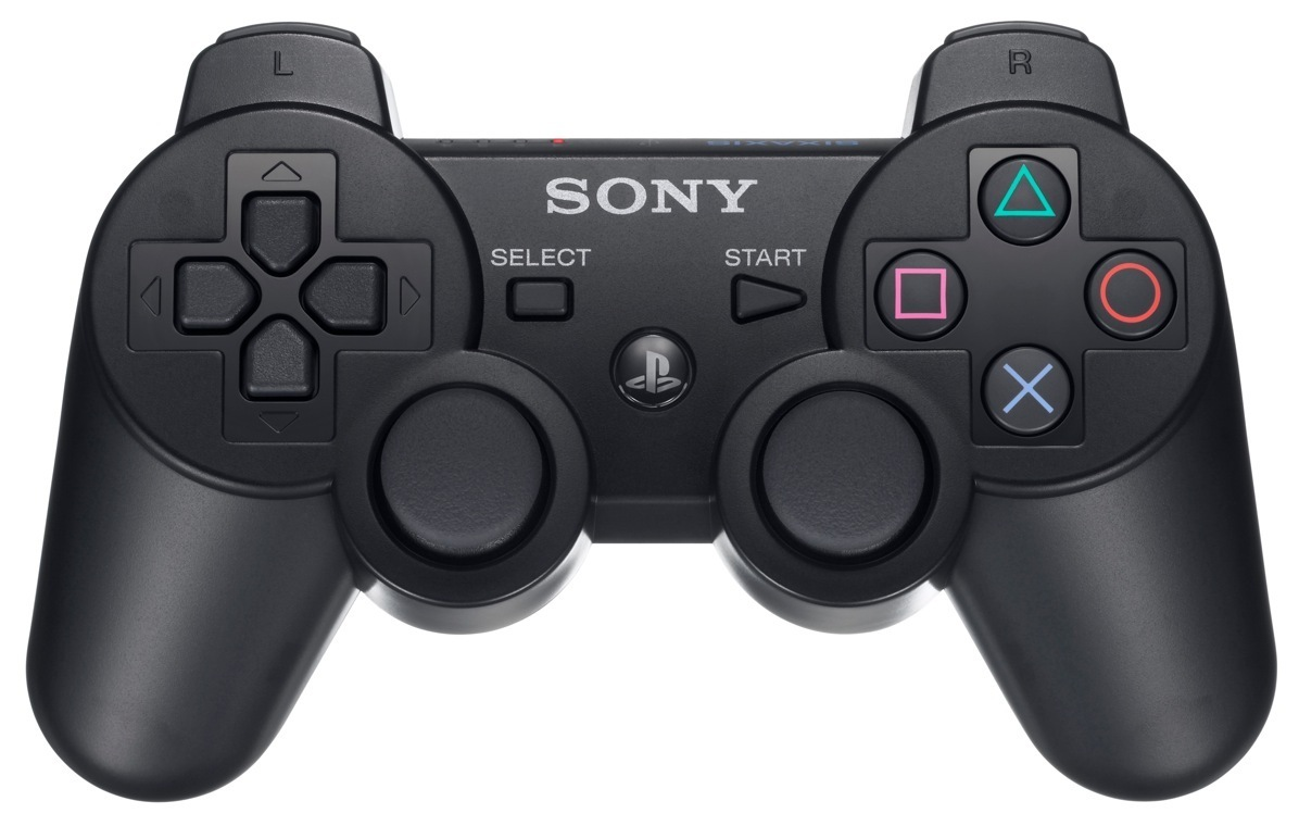 sony dualshock 3 wireless controller peliohjain musta. Black Bedroom Furniture Sets. Home Design Ideas