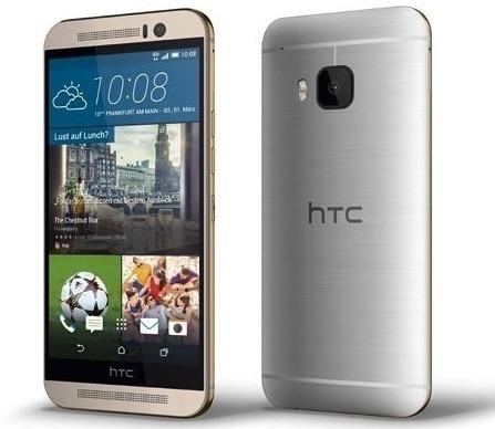 HTC One M9 Android-puhelin, harmaa/kulta – Android – Puhelimet – Puhelimet – Verkkokauppa.com