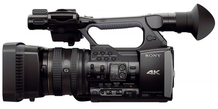 sony fdr ax1 4k videokamera 4k digivideokamerat. Black Bedroom Furniture Sets. Home Design Ideas