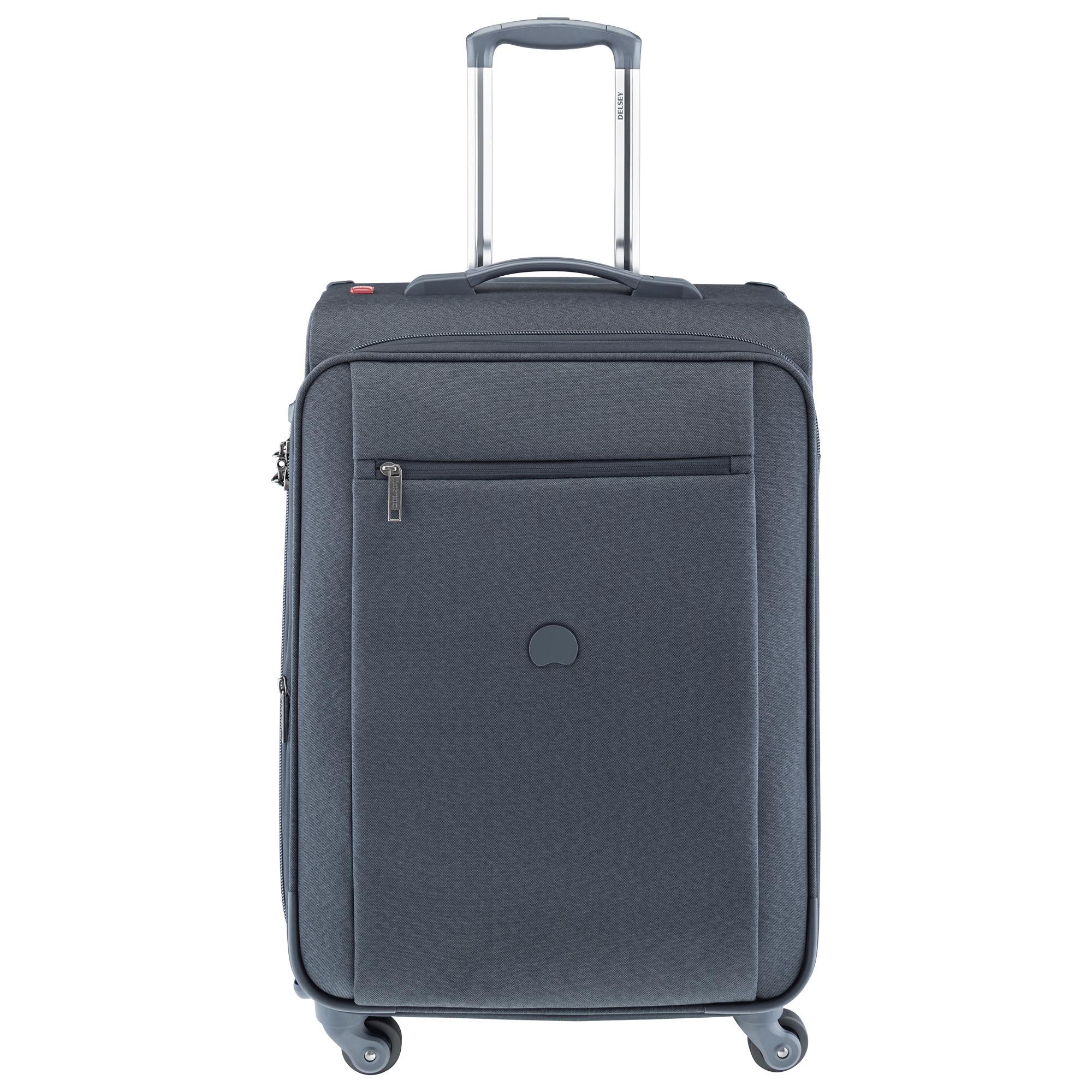 delsey montmartre expandable trolley 65 cm matkalaukku sininen keskikokoiset 57 69 cm. Black Bedroom Furniture Sets. Home Design Ideas